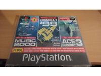 official playstation magazine uk demos x2 items demo 55, demo 61