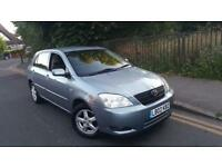 Toyota Corolla 1.6 VVT-i T3 AUTOMATIC 5Dr Low Mileage Long Mot AC CD Spare Key ISOFIX Alloy Wheels