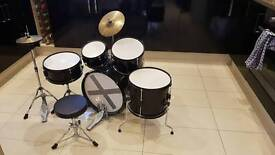 kids childrens Stagg drum kit