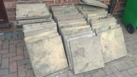 CONCRETE SLABS WITH PRINTS £2