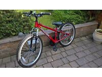 Apollo xc24 - boys mountain bike - as new