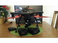 Drone Ehang Ghostdrone 2.0 with 4k camera + extra battery / warranty, boxed, like new!