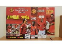 MANCHESTER UNITED ANNUALS