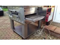"""Blodgett Gas Pizza Oven Machine BG2136 18"""" Conveyor Belt Oven COME AND SEE IT WORKING..."""