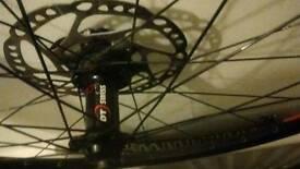 "dt Swiss 26"" disc brake front wheel."