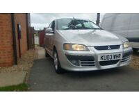 Mitsubishi SPACE STAR 2003 1.3 petrol only 1owner
