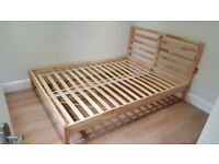 King Size Bed Frame Solid Pine