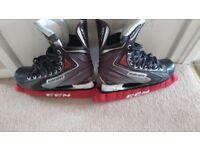 Bauer Vapor X40 Ice Hockey Skates Excellent Condition