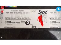 CarFest North 2 adult weekend camping tickets