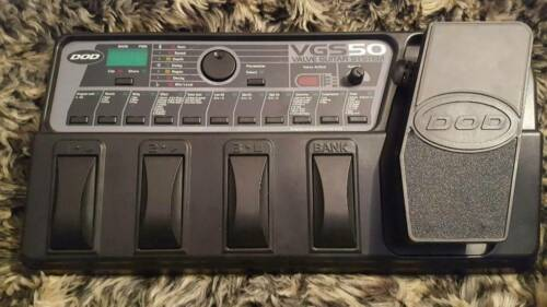 DOD VGS 50 Guitar Valve Multi-Effects Processor