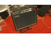 Laney LC30-112. Versatile 30 watt valve guitar amplifier (with amp stand and footswitch)