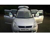 Best bargain on Gumtree 2006 Suzuki Swift vvts GLX 5dr in silver its a quality car (cheep)