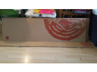 5x New wooden boards (manufactured-white lacquer)