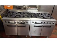 12 Burner Falcon Dominator Gas Cooker Reconditioned with thermocouplings fitted