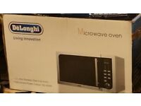 BRAND NEW DELONGHI MICROWAVE FULLY PACKED