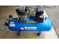 Ingersoll-Rand 3.0 HP Air Compressor. 150 Litres. 11 Bar 230v