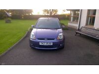 2007 FORD FIESTA 3 DOOR IN PURPLE WITH ONLY 79300 MILES