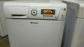 White Hotpoint Ultima 8 Kg Tumble Condenser Dryer (BRING YOUR OLD ONE AND GET NEW-25%)