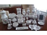 Ainsley Pembroke - various items including lamps, vases, dishes, plates; some with original boxes