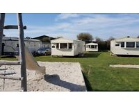 Deluxe 3 bed caravan littlesea, Weymouth.