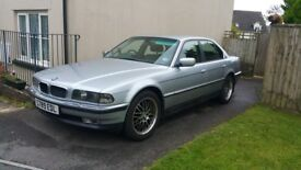 735I E38 BMW 7 series, very good condition, No rust, Future classic, MOT May 2018
