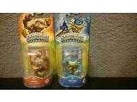 Skylander swap force figures X2
