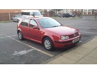 VW Golf 4, 2001, 1.6 Petrol, full options.
