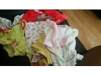 free baby girl clothes 0-3 months