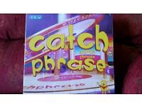 Catchphrase Board Game. New