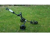 Sabre 3 wheel golf trolley