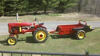 tracteur antique 1949 inter A