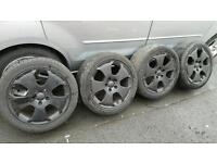 """AUDI A3 SPORT 17"""" ALLOY WHEELS AND TYRES"""