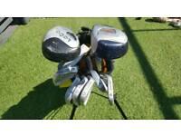 Full Set Junior Plus Golf Clubs With Bag