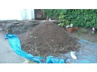 Free top soil / unwanted and must go soon.