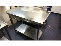 Stainless Steel Worktop Great Condition