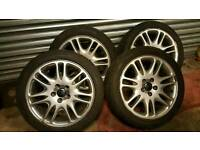 Volvo v70 s60 s80 alloy wheels 225/45/17