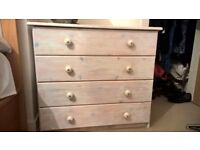 limed pine chest of drawers