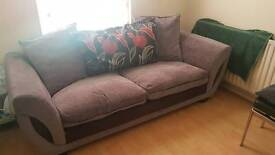 3 seater fabric sofa for sale