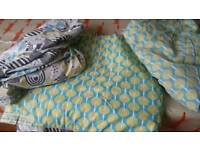 Cot bumpers and bedding