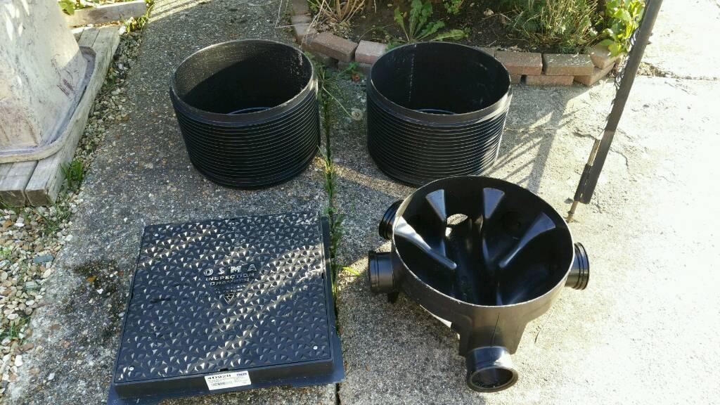 Plastic manhole, osma