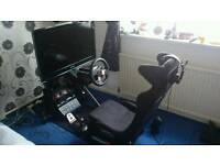Gaming pc sim racing ps4 swap car ford vaxhual