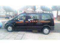 Merc benz vito london taxi
