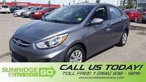 2015 Hyundai Accent ONE OWNER, LOW KMS, CRUISE CONTROL, BLUETOOT