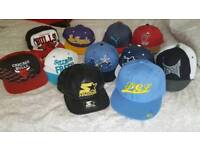 Selection of snap back / caps