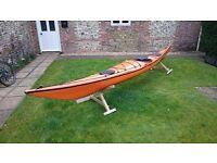 18' Tahe Marine 'Reval' composite sea kayak
