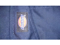 GENUINE BRAND NEW Pair R/HAWK Dickies Action Work Trousers Navy Blue WD884