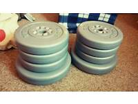 York Cement​ Weight Plates