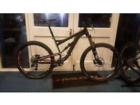 Diamondback mission full susspencion mountain bike EX DEMO