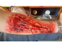 Special effects makeup artist seeking work for any event and halloween