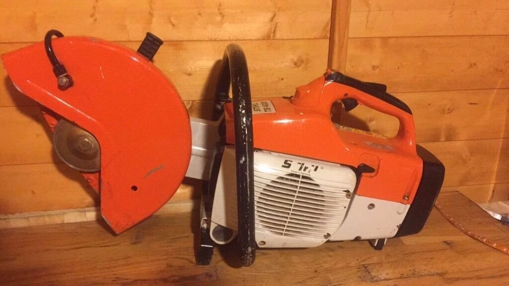 Stihl TS400 concrete saw great condition